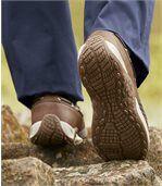 Mokassins im Bootsschuh-Stil