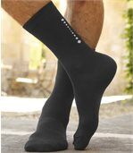 Pack of 4 Pairs of Men's Fashion Socks  preview2