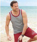 3er-Pack ärmellose T-Shirts Relax Holidays preview3