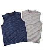 2er-Pack ärmellose Shirts preview1