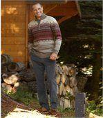 Menčestrové nohavice Streč Komfort preview2