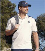 2er-Pack lässige Poloshirts aus Jersey preview2