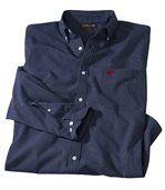 Men's Blue Striped Poplin Shirt preview3