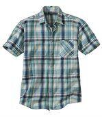 Reliéfna bavlnená košeľa preview2