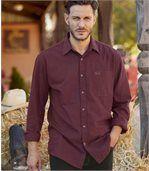 Set van 2 flanellen Sunset Canyon overhemden