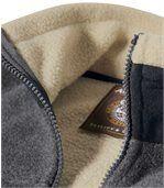 Flísová bunda sumelou kožušinou Original Winter