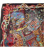 Grand foulard soie Osiris preview2