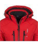 Peak Mountain - Blouson de ski femme ANADO-rouge-T2 preview4