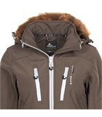 Peak Mountain - Blouson de ski femme ASADA-taupe preview3