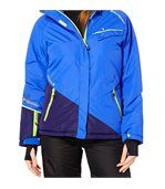Peak Mountain   Blouson de ski femme ATENE bleu preview1
