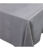 Nappe rectangle 150x250 cm Jacquard 100% polyester LOUNGE perle preview1