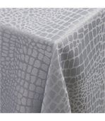Nappe rectangle 150x250 cm Jacquard 100% polyester LOUNGE perle preview2