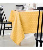 Nappe rectangle 150x250 cm imprimée 100% polyester PACO géométrique jaune Maïs preview4