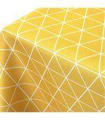 Nappe rectangle 150x250 cm imprimée 100% polyester PACO géométrique jaune Maïs preview2