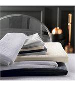 Lot de 2 sets de table 35x45 cm Jacquard 100% polyester LOUNGE blanc preview5