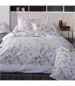housse de couette 260x240 cm percale pur coton plumes linnea. Black Bedroom Furniture Sets. Home Design Ideas