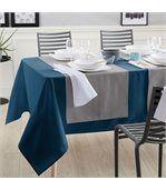 Nappe rectangle 150x300 cm Jacquard 100% coton CUBE gris Perle preview4