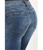 Jeans taille basse slim preview4