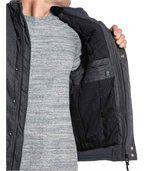 Blouson zippé homme gris laine preview3