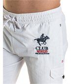 Short de bain blanc club norway blanc preview2