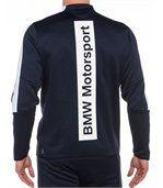 Blouson de survêtement navy BMW Motorsport pour homme preview3