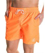 Short de bain orange fluo été preview1