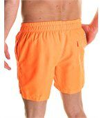 Short de bain orange fluo été preview3