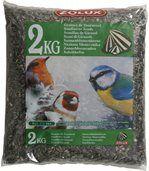 Sac de 2 kg de graines de tournesol pour oiseaux de jardin preview1
