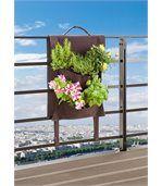 Jardin vertical pour balcon 41x22x48cm preview2