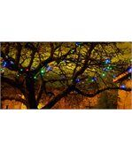 Guirlande solaire multicolore 100 LEDs 11,8m preview2