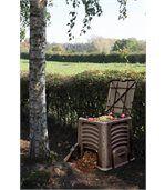 Bac à compost avec couvercle 435L preview1