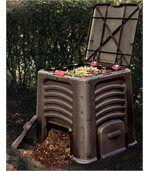 Bac à compost avec couvercle 435L preview2