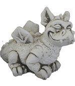 Statuette Petit dragon en pierre reconstituée preview1