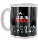 Mug Snoopy en grès Je suis unique preview1