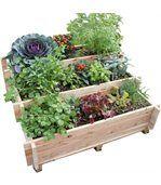 Escalier à légumes avec feutre mélèze brut FSC 100% preview1
