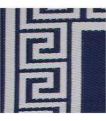 Tapis intérieur extérieur Athens bleu marine et crème 180 x 120 cm preview2