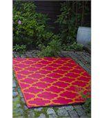 Tapis intérieur extérieur Tangier orange et rouge 180 x 120 cm preview2