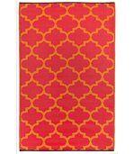 Tapis intérieur extérieur Tangier orange et rouge 180 x 120 cm preview1