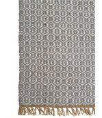 Tapis en fibre de polyester recyclé Lancut gris preview2