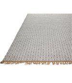 Tapis en fibre de polyester recyclé Lancut gris preview3