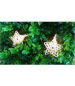 Guirlande lumineuse 10 étoiles dorées preview3