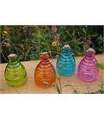 Piège à guêpes coloré en verre 15cm preview2