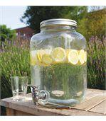 Distributeur avec robinet en verre et couvercle preview2