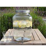 Distributeur avec robinet en verre et couvercle preview3