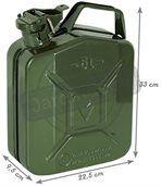 Jerrican à essence en métal 5l preview2