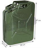 Jerrican à essence en métal 20l 20L preview2