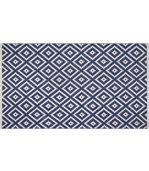 Tapis intérieur extérieur Chanler bleu 150 x 90 cm preview1