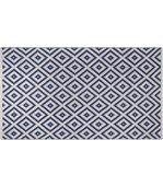 Tapis intérieur extérieur Chanler bleu 150 x 90 cm preview3