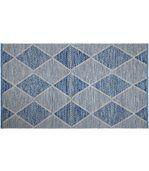 Tapis intérieur extérieur Hampton bleu 150 x 90 cm preview1