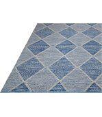 Tapis intérieur extérieur Hampton bleu 150 x 90 cm preview3